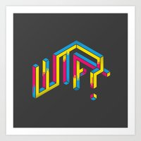 F*** The What? Art Print