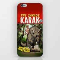 The Savage KARAK, King O… iPhone & iPod Skin