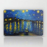 Starry Night Over Cardiff Bay Laptop & iPad Skin