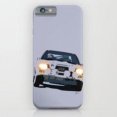 AUDI QUATTRO RALLY iPhone 6 Slim Case