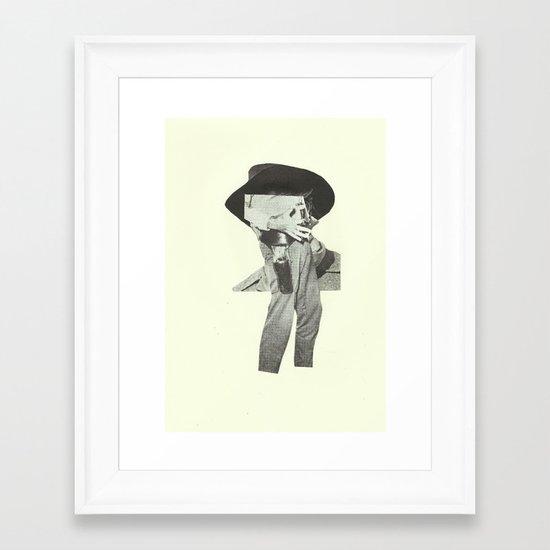 Guts and a horse Framed Art Print
