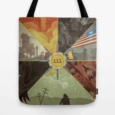 War Never Changes Tote Bag