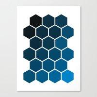 Geometric Abstraction II Canvas Print