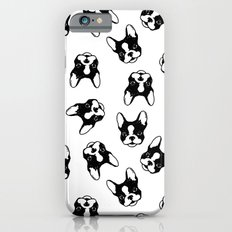 French bulldog pattern iPhone 6s Slim Case