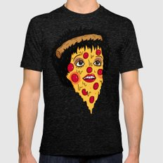 Pizza Minnelli Mens Fitted Tee Tri-Black SMALL