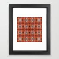 Scarlet Cloister Framed Art Print