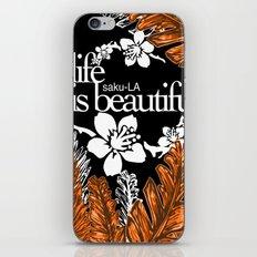 SAKU-LA iPhone & iPod Skin