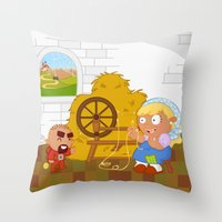 Rumpelstiltskin Throw Pillow