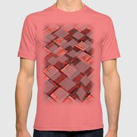 Announcer Mens Fitted Tee Pomegranate SMALL