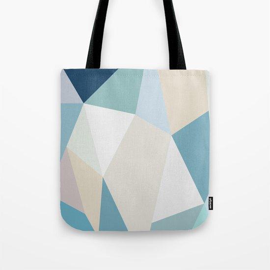 SPRING LOVE { BLUE } Tote Bag