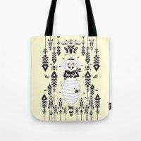 Lady Honey Tote Bag