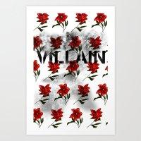 Vilain Art Print