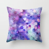 Throw Pillow featuring Cryptic Light by LebensART
