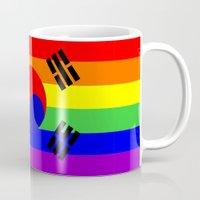 south korea gay flag Mug