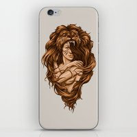 Lion Queen iPhone & iPod Skin