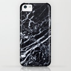 Real Marble Black Slim Case iPhone 5c