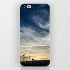 Wind Turbines Landscape iPhone & iPod Skin