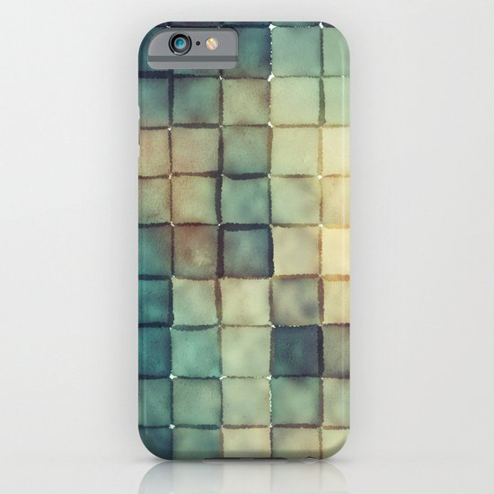 Polaroid Pixels III (Chain) iPhone & iPod Case