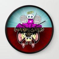 Angel And Demon RonkyTon… Wall Clock
