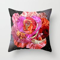 Rose Of Roses Throw Pillow