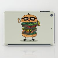 Geek Burger iPad Case