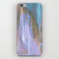 ANGELS PLAYING IN HEAVENS WATERFALL iPhone & iPod Skin