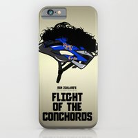 iPhone & iPod Case featuring Flight of the Conchords - Hair Helmet by maclac