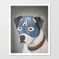 Captain America (America… Canvas Print