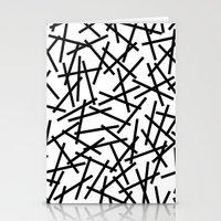 Kerpluk Black on White Stationery Cards