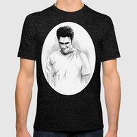 DARK COMEDIANS: Seth Rog… Mens Fitted Tee Tri-Black SMALL