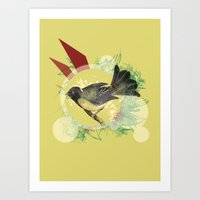 Out On A Limb Art Print