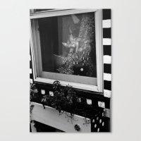 Pinwheels in the Window Canvas Print
