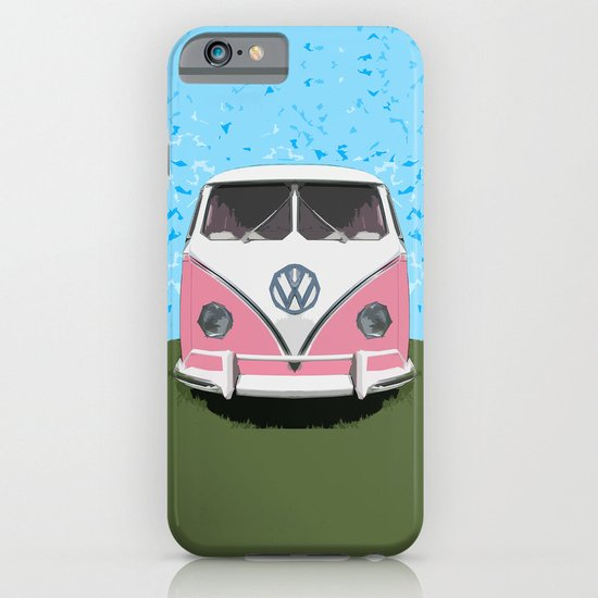 VW Kombi Love van iPhone & iPod Case