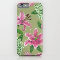 iPhone & iPod Case featuring Floral  by Alyssa Bermudez