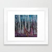 :: Pink Moss :: Framed Art Print
