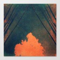 Presence (Pilliar Of Clo… Canvas Print