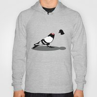 Pigeon and head Hoody