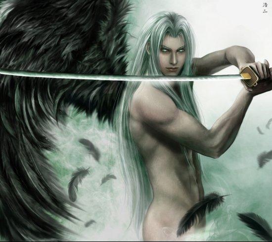 General Sephiroth Art Print