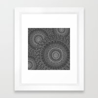 Mandala Tiled Framed Art Print