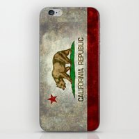 California Republic state flag iPhone & iPod Skin