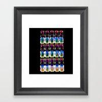 Aurora Stoned Framed Art Print