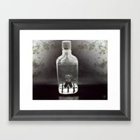 Stuck In A Hard Place | … Framed Art Print