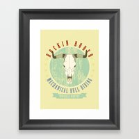 Cowgirls Wanted Framed Art Print