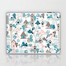 Bird family tree Laptop & iPad Skin