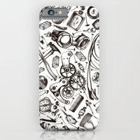 iPhone & iPod Case featuring Garage  by Agata Duda