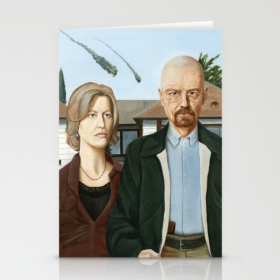 The Heisenbergs Stationery Card