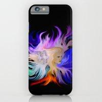 Woman and Horse - Fantasy Rainbow Art iPhone 6 Slim Case