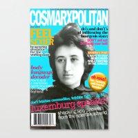 COSMARXPOLITAN, Issue 13 Canvas Print