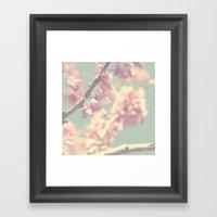 popcorn blossoms Framed Art Print
