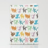 Eeveelution Stationery Cards